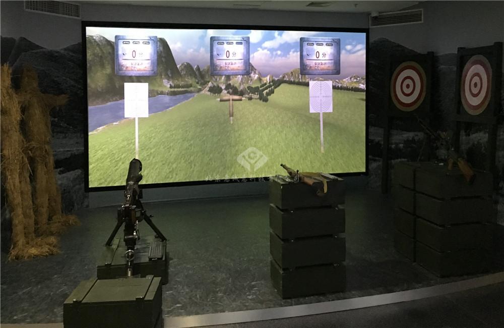 北京抗日战争纪念馆虚拟射击游戏