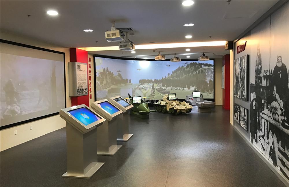 北京抗日战争纪念馆互动体验厅