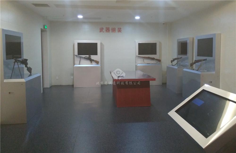 北京抗日战争纪念馆武器展厅